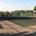 Детская спортивная площадка в центре Тамани