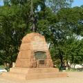 Отдых в Тамани. На улицах станицы. Памятник казакам-петеселенцам в станице Тамань