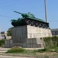 Отдых в Тамани. Достопримечательности станицы. Памятник освободителям Тамани танк Т-34