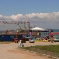 Детская площадка на Таманском пляже